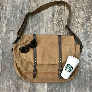 J. Crew Carson Canvas Messenger Bag